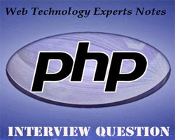 PHP Interview Questions and Answers for 2 year Experience