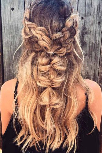 Cool Latest Bridal Boho Hairstyles For Long Short And Medium Length Schematic Wiring Diagrams Amerangerunnerswayorg