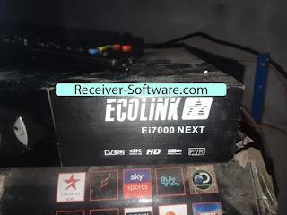Echolink EI7000 Next Receiver Software 2020 Update 1506T