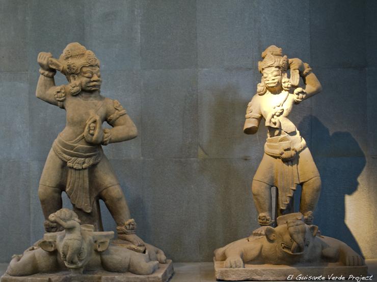 Museo Escultura Cham - Da Nang, Vietnam por El Guisante Verde Project