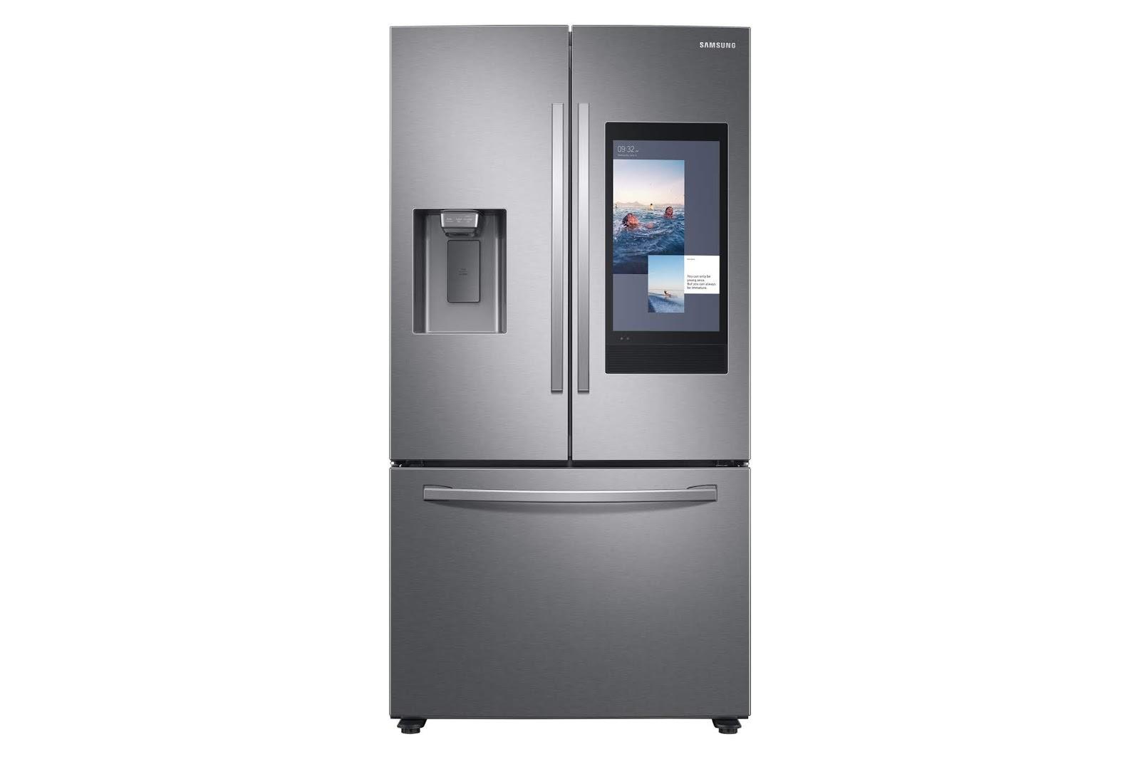 Con i frigoriferi Samsung Family Hub i pasti si pianificano grazie all'Intelligenza Artificiale