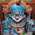 Alfred E. Neuman tornar-se Pennywise na Capa da Revista MAD Nº 10