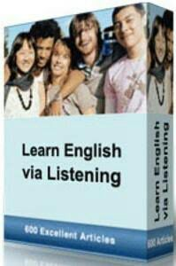 Learn English Via listening ( Conversation Files)