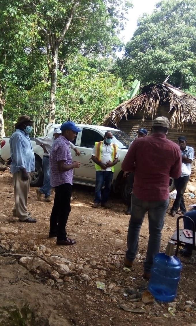 Coordinador provincial del Proyecto Agroforestal , Lic. Carlos Manuel Feliz Tejeda aclara situacion del Tractor  de UTEPDA.
