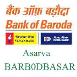 New IFSC Code Dena Bank of Baroda Asarva Ahmedabad