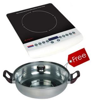 Buy Padmini Induction Cooker Elegant with Free Kadai for Rs.2049 at Greendust