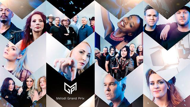 Participantes del Melodi Grand Prix 2017 (Photo: NRK)