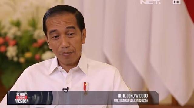 Kata Jokowi: Kita Harus Akhiri Politik Kebohongan, Merasa Benar Sendiri