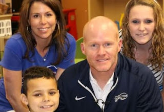 Sean McDermott With His Family