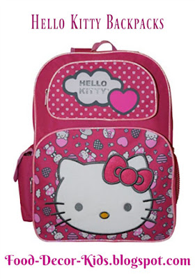 Hello Kitty Backpacks and Lunchboxes