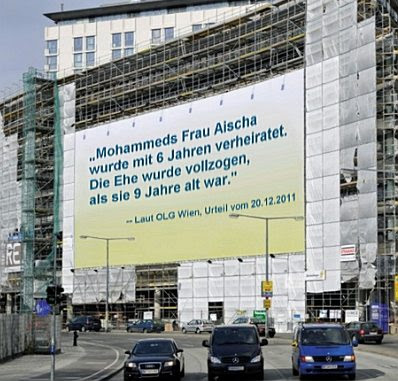 Vienna billboard, German