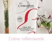 crème raffermissante corps Embryolisse