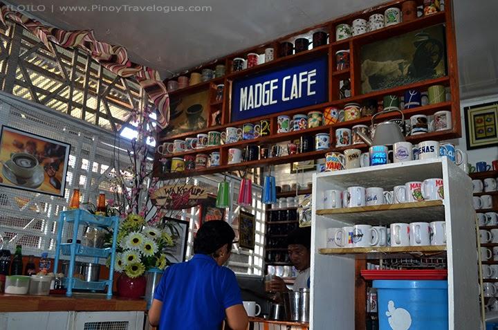 Madge Cafe's mixing bar