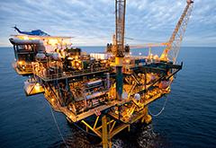 Baldpate Oil Platform