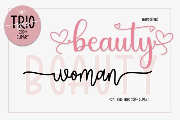 Woman Beauty Font
