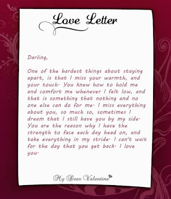 Love Letters For Loved Ones