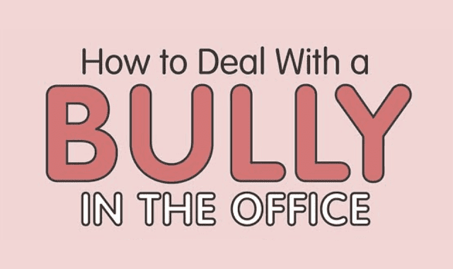 How to deal with bullying in the Office #infographic