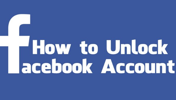 How to unlock my facebook account
