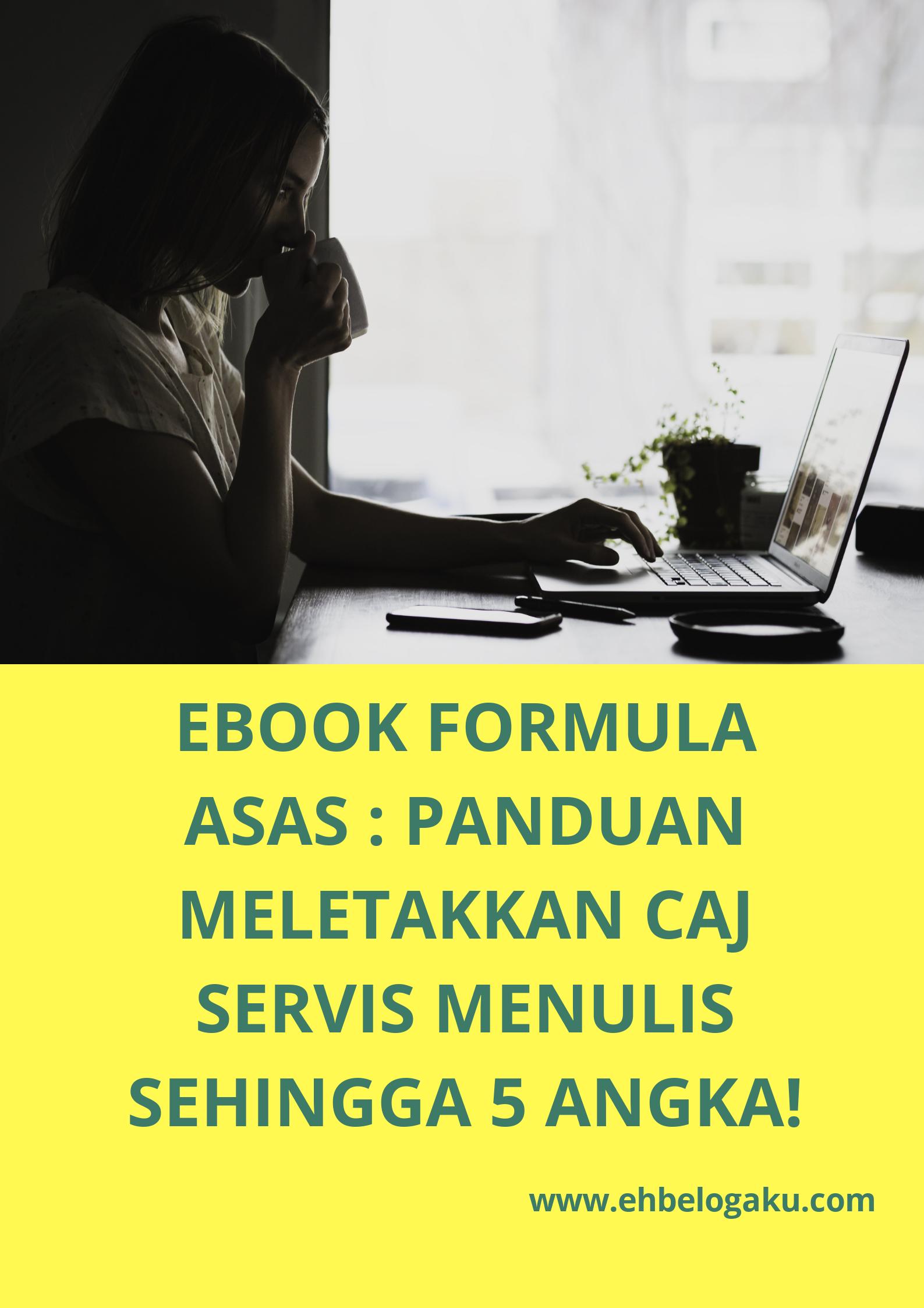 Ebook panduan meletakkan caj servis menulis