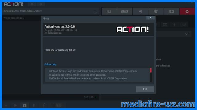 Mirillis Action 2.0 full crack