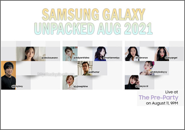 Pre-Party Galaxy Unpacked Malaysia 2021