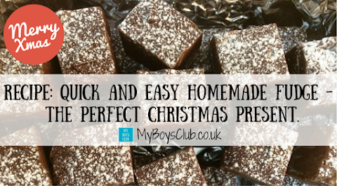 RECIPE: Quick and Easy Homemade Fudge -  The Perfect Christmas Present