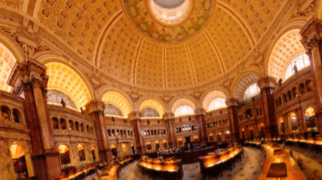 احتراق مكتبة الكونغرس الامريكى 24 ديسمبر1851م