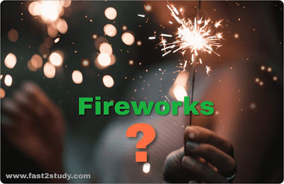 History of the Invention of Fireworks.