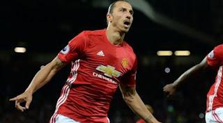Kembali Dikontrak Manchester United, Zlatan Ibrahimovic Kenakan Jersey No. 10