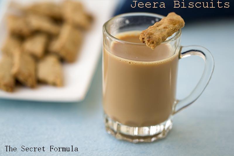The Secret Formula: Jeera Atta Biscuits (Cumin Wholewheat