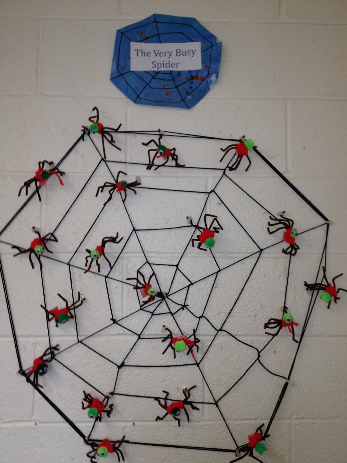 Mrs Goff S Pre K Tales The Very Busy Spider