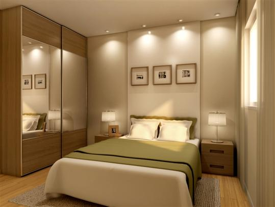 Casa decora o quarto de casal pequeno - Iluminacion dormitorio moderno ...