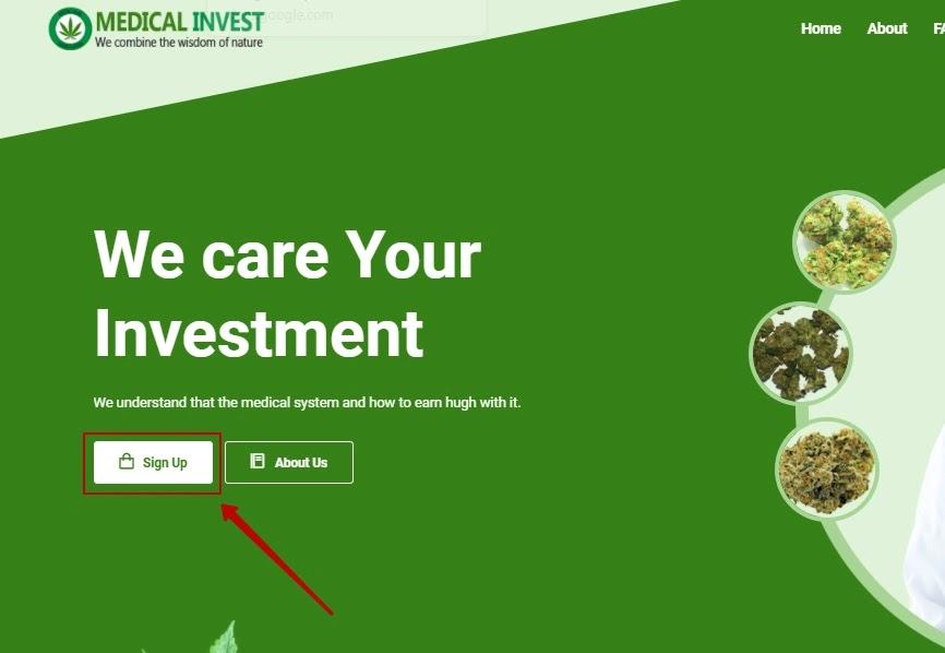 Регистрация в Medical Invest