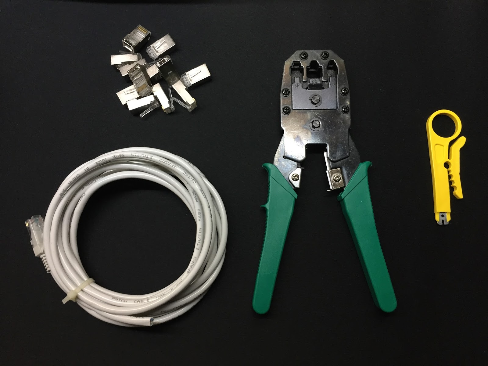 How to crimp your own Ethernet Cable