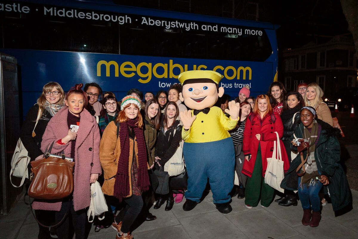MegaBus Mystery Tour group shot