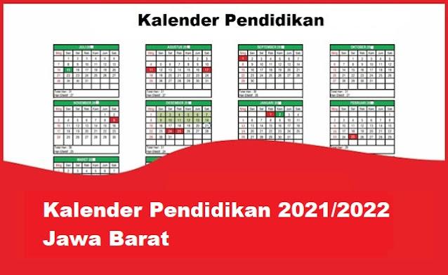 kalender pendidikan jawa barat 2022