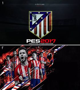 Atlético Madrid Start Screen PES 2017 by Eslam