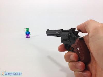 Mini revolver toy guns that work like real n