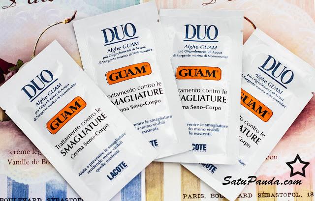 Guam DUO Smagliature Crema Seno-Corpo Крем от растяжек для тела и груди - отзыв