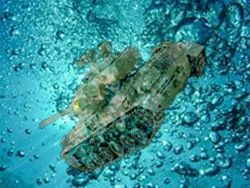 水中戦線(素材使用)