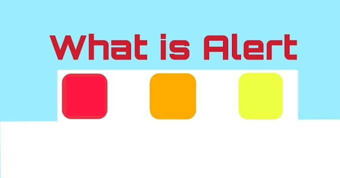 What is Red Alert, Orange Alert, Yellow Alert- What is the meaning of Alert  in Hindi