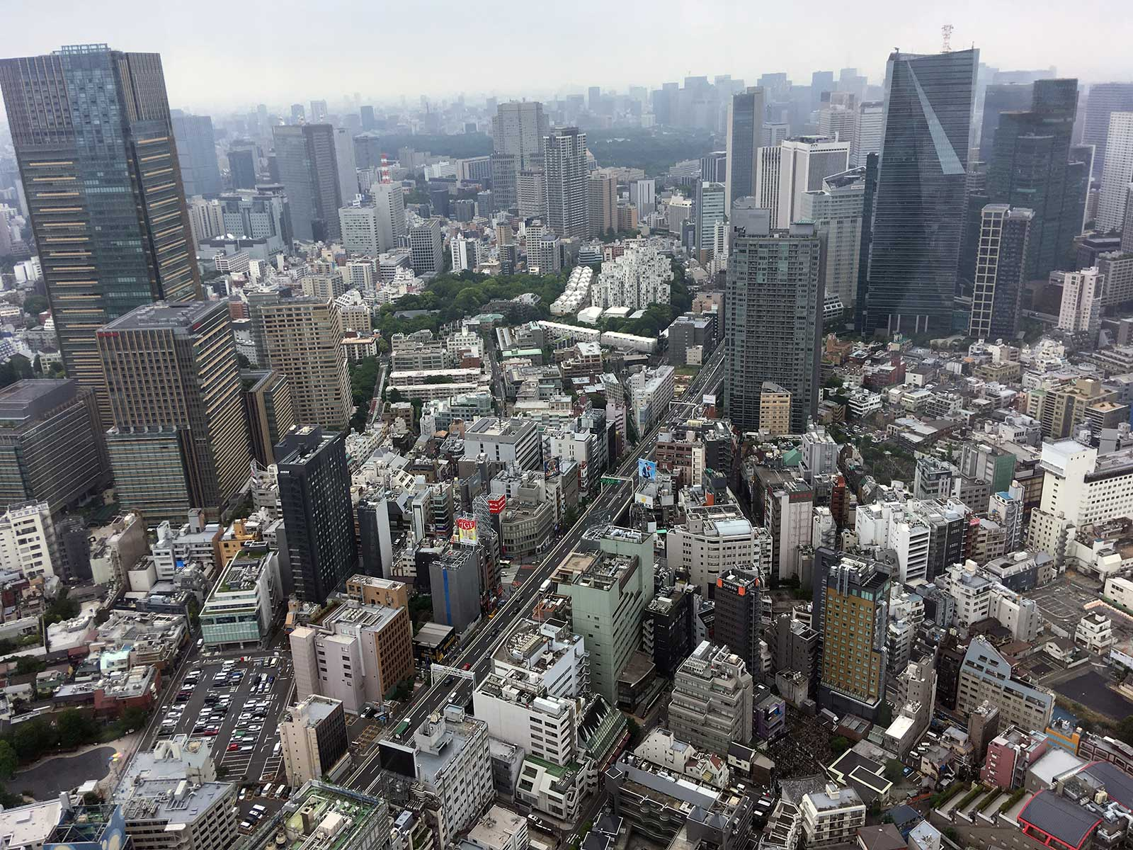 Tokio desde Roppongi Hills Mori Tower