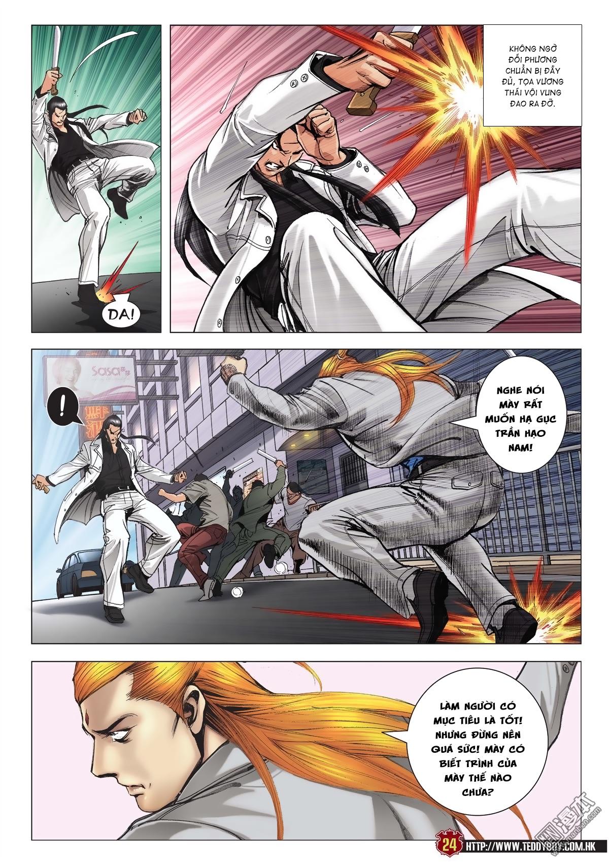 Người Trong Giang Hồ chapter 2015: tọa sơn hổ vs đại phạn trang 21