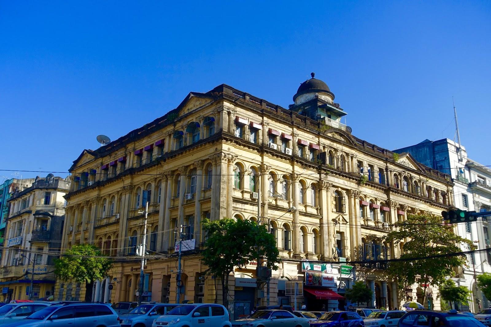 Sofaer Co Building Yangon Sofa Loveseat Cover Set Adrian Yekkes Myanmar Journey Part One