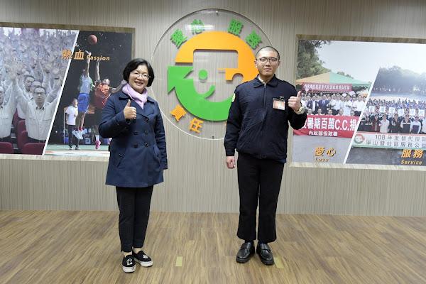 王惠美關心縣籍子弟兵 成功嶺營區探視替代役男