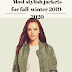 Most stylish jackets for fall-winter 2019-2020