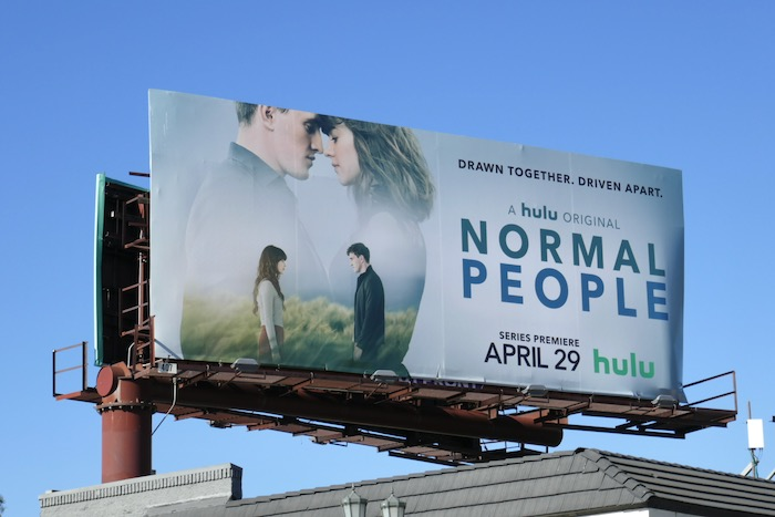 Normal People series launch billboard
