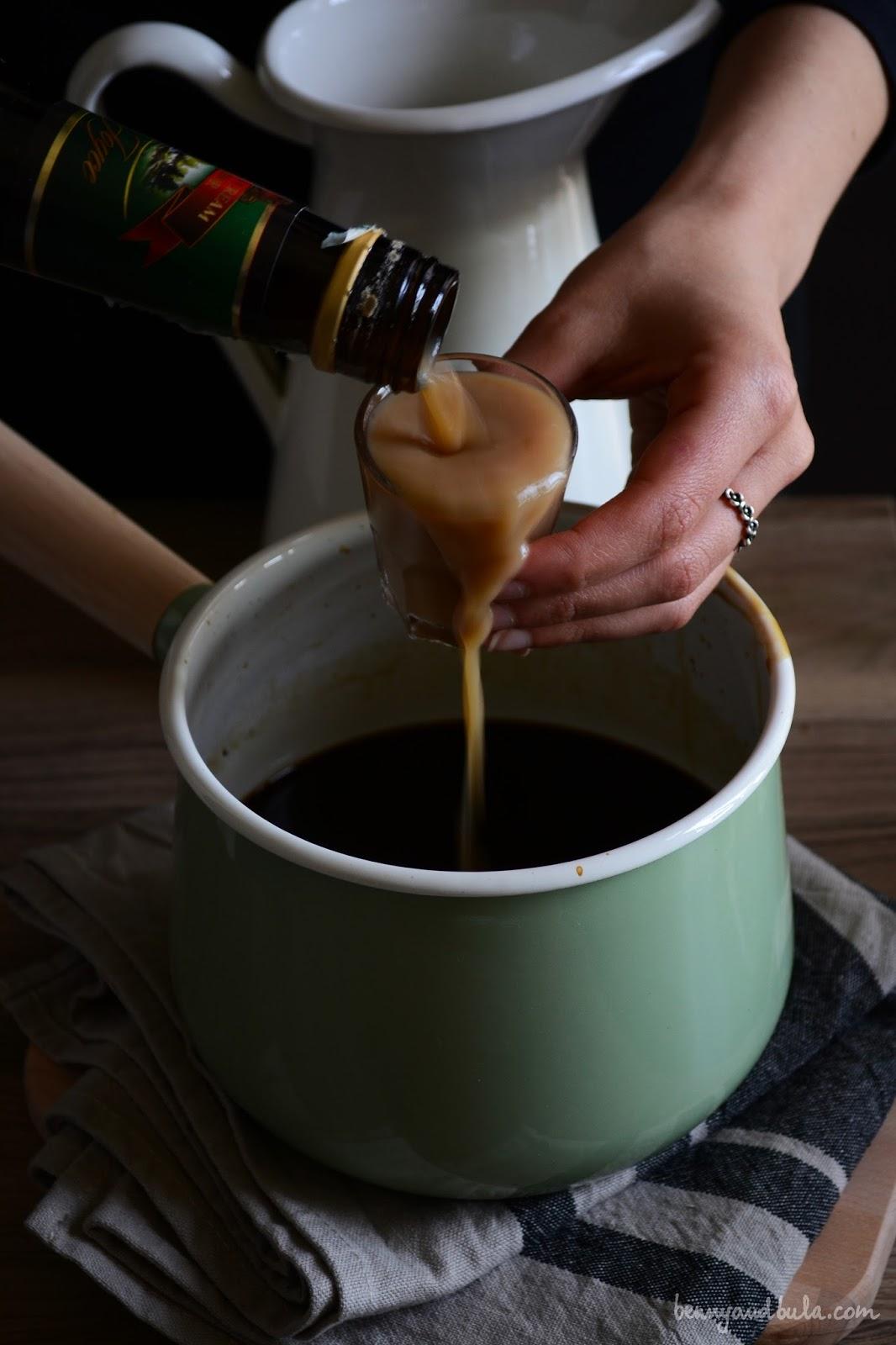 granita al caffè senza gelatiera/ mocha coffee granita