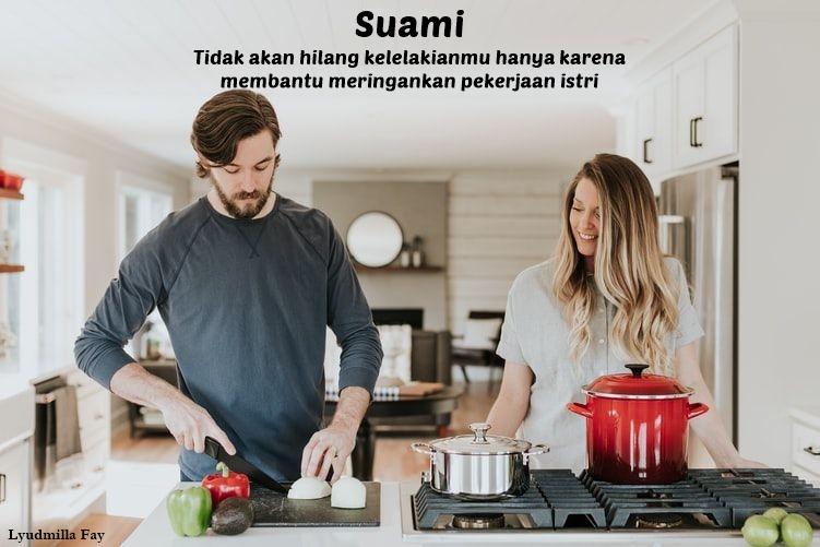 Lyudmilla Fay : Kepada suami, Istri bukan robot yang tidak bisa lelah
