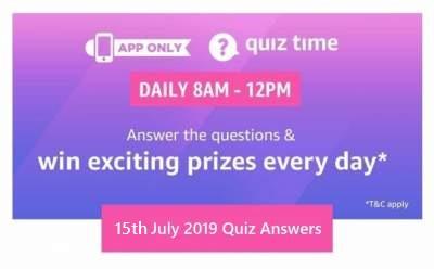 Amazon 18th July 2019 Quiz – Win Sony Home Theatre